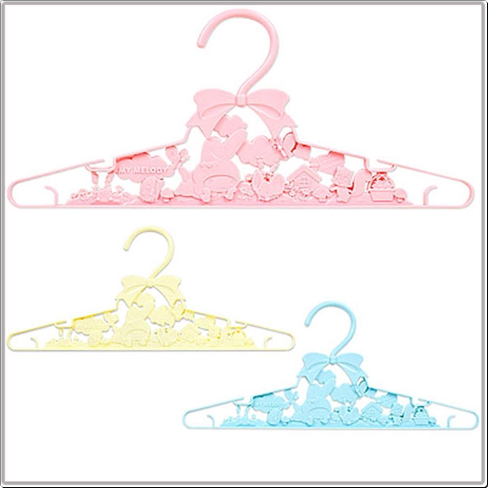 마이멜로디 입체옷걸이3P(일)(A419 47083-0) 캐릭터 캐릭터상품 생활잡화 잡화 유아용품