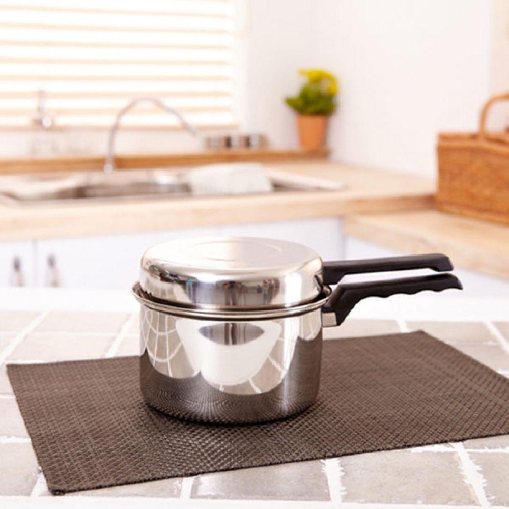 퀸센스 라면냄비 16cm 주방용품 스텐레스 다용도냄비 냄비 스텐레스 라면냄비 주방용품 다용도냄비