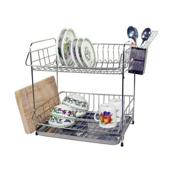 로얄 2단 식기건조대 설거지건조대 설거지선반 그릇정리대 싱크대선반 씽크대선반
