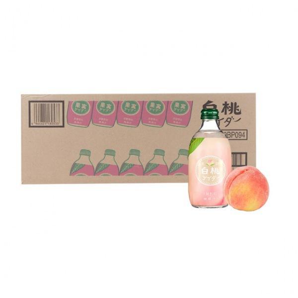 일본 사이다 토모마스 복숭아 1박스 24입 일본음료 토모마스 일본사이다 탄산음료 과일탄산음료
