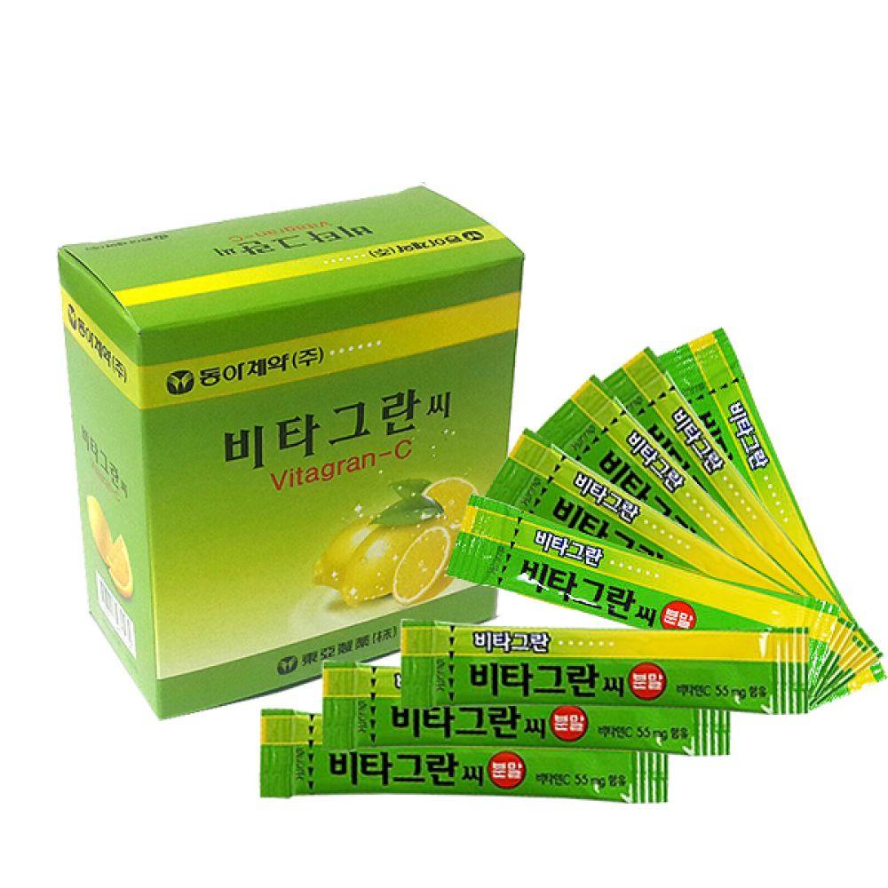 비타그란씨10포 동아제약비타그란C 비타민C 레몬맛 분말 비타그란씨1포