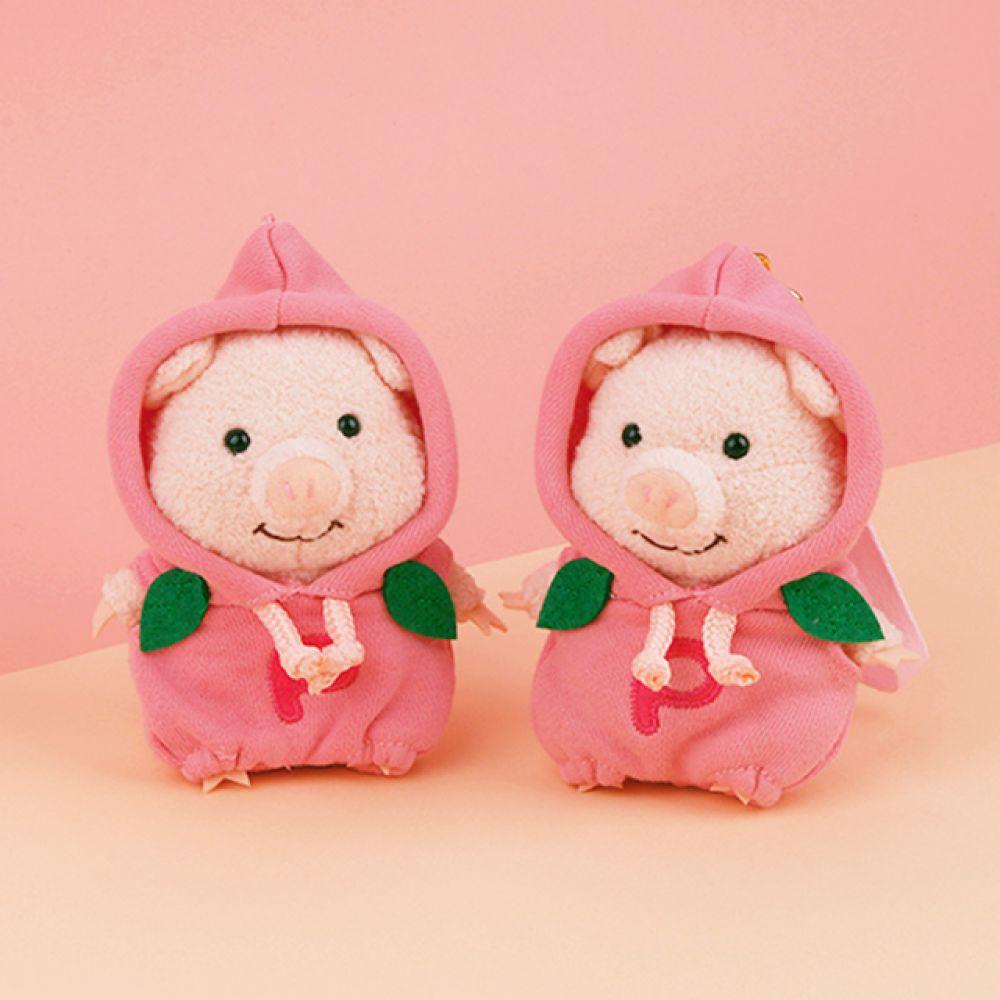 푸우통 피치후드 마스코트 가방고리 인형선물 캐릭터인형 봉제인형 귀여운인형 나이토디자인 푸우통 푸우톤 돼지인형 puton 푸우통인형