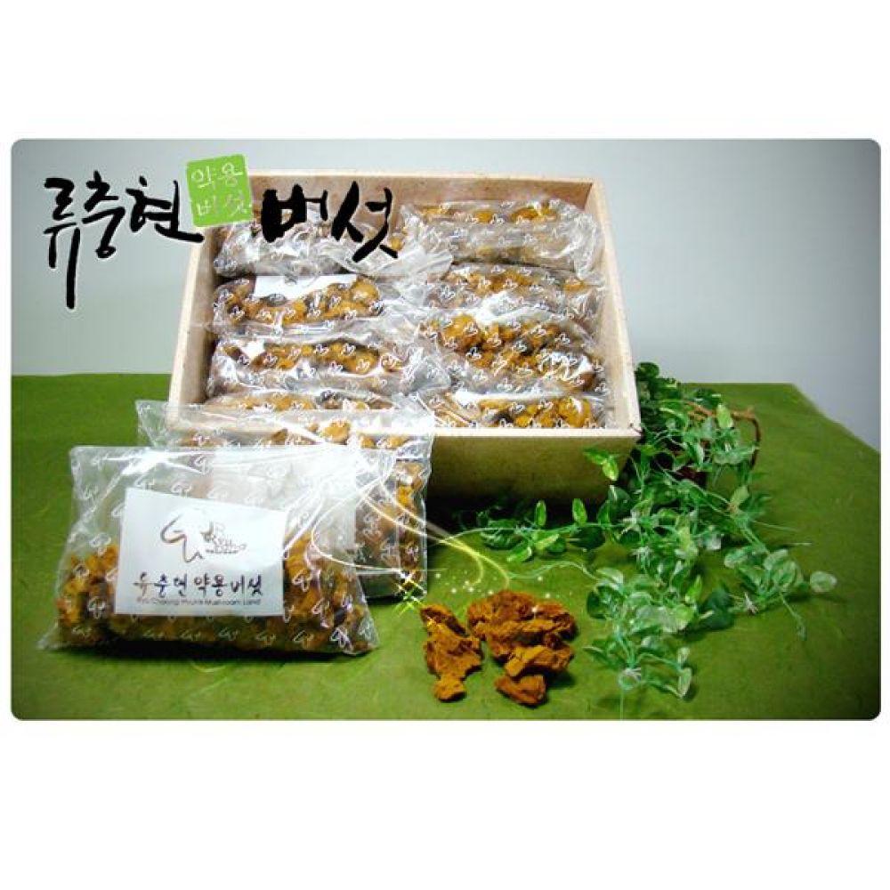 류충현 상황버섯(분쇄품) 1kg 건강 식품 버섯 선물 상황