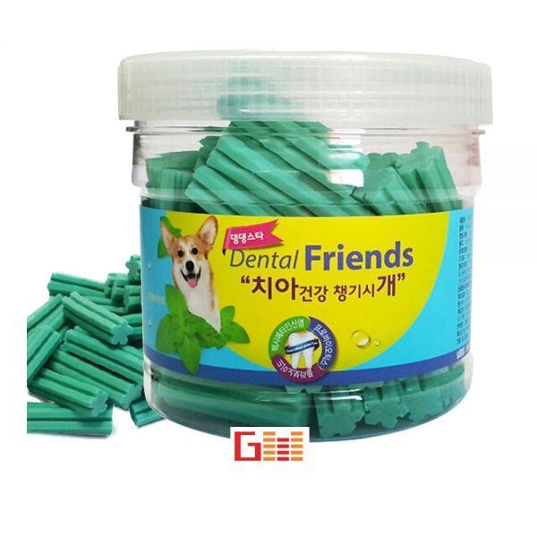 애견 강아지 구강관리 치석제거 껌 민트 300g