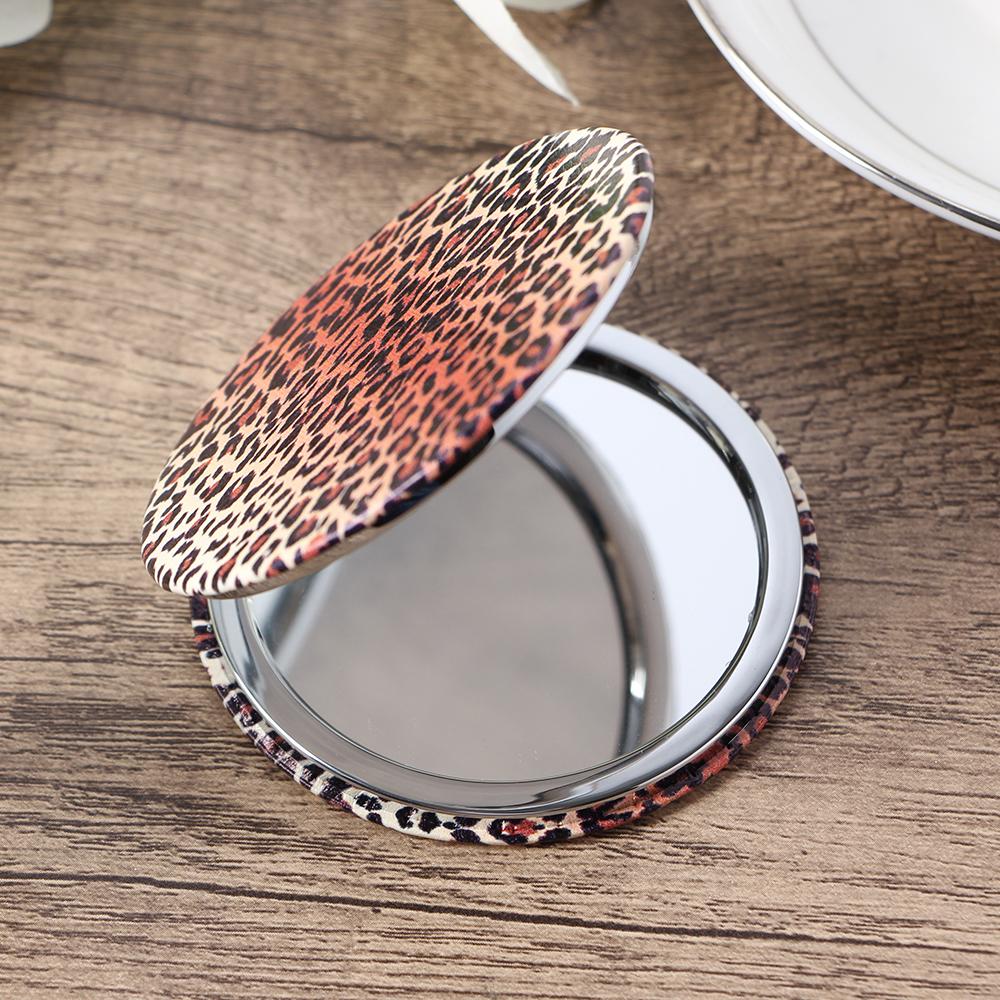 양면 손거울 레오파드 양면손거울 팬시손거울 양면손거울 미니손거울 휴대용거울 화장거울 양면거울