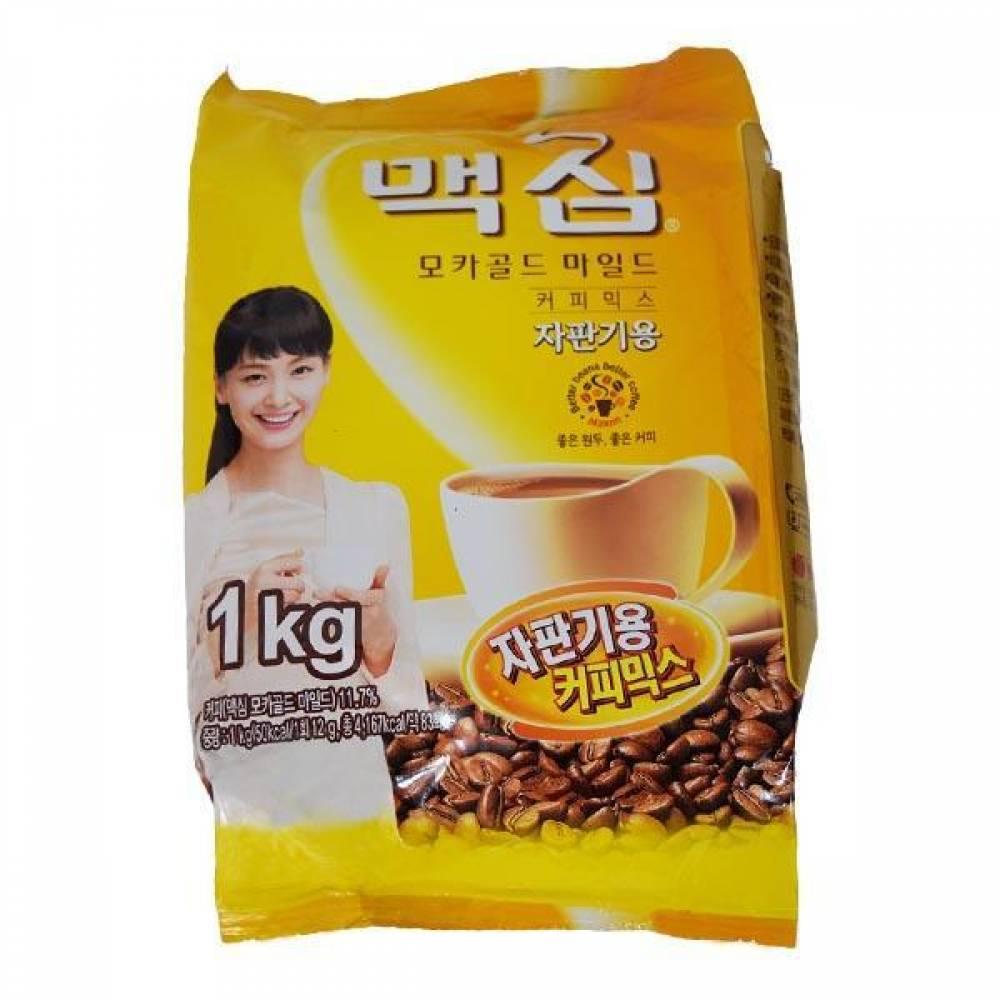맥심 모카골드 마일드 자판기용1kg 커피 커피믹스 동서식품 맥심 가공식품
