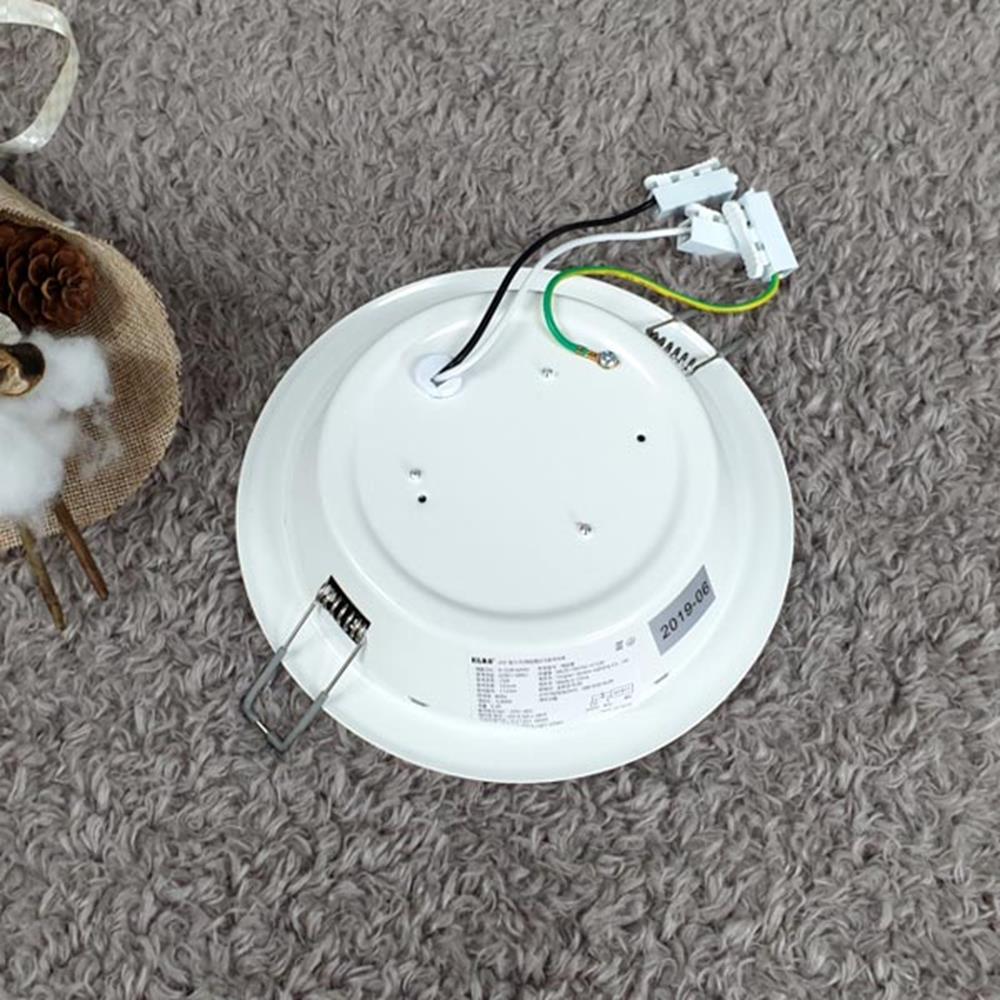 주광색 LED등 15W 다운라이트 가정용전구 LED전구 LED조명 전구 LED전구 생활용품 현관센서등