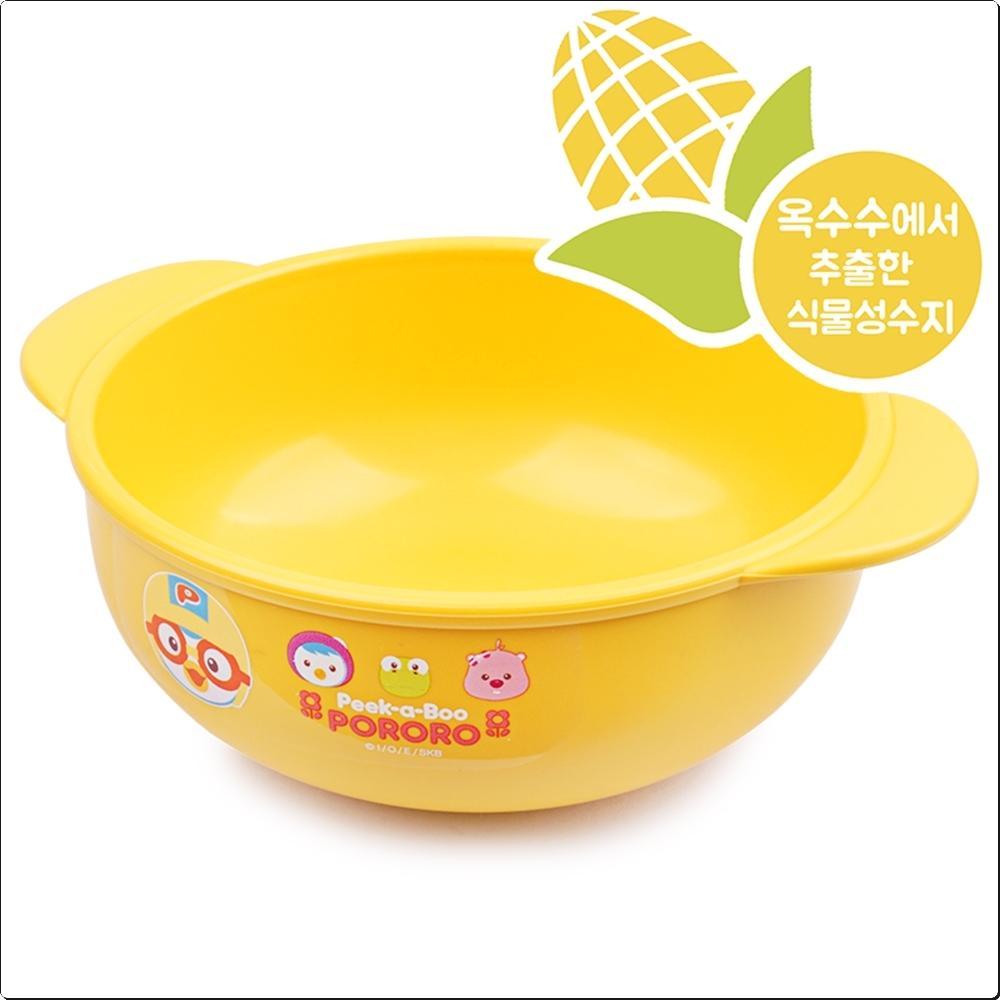 뽀로로 피카부 옥수수볼 (대접 그릇)(552773) 캐릭터 캐릭터상품 생활잡화 잡화 유아용품