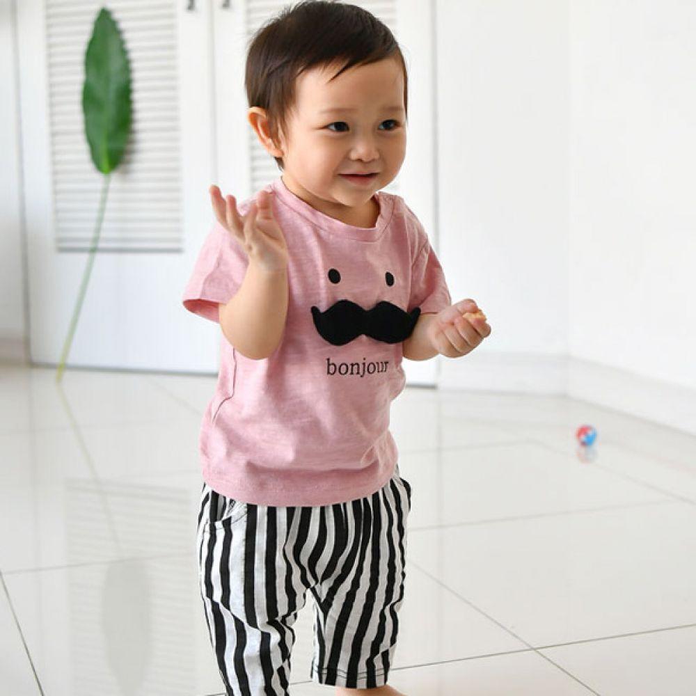 콧수염상하세트FS(6개월-4세)300026 아기외출복 백일아기옷 아기룸퍼 6개월아기옷 돌아기옷 신생아외출복 베이비롬퍼