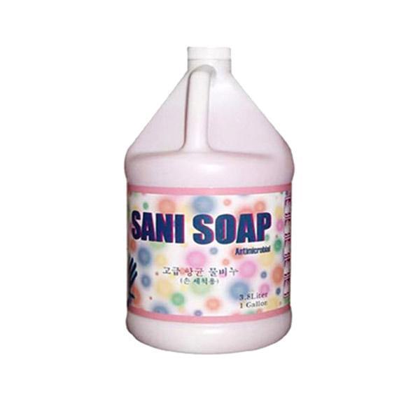 고급 물비누(SANI SOAP) 3.8L 욕실화장실위생 욕실용품 화장실용품 손씻기용품 손닦기용품 샤니숍 샤니샵 개인위생용품
