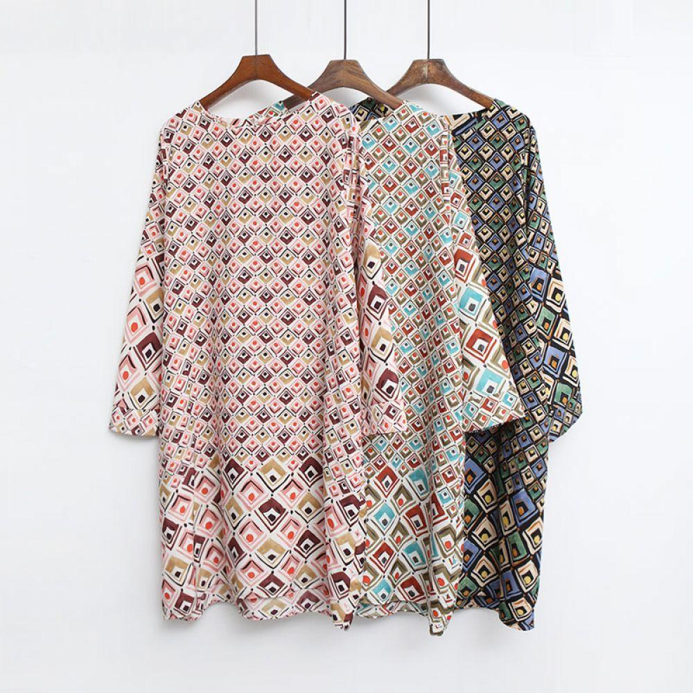 루즈핏 패턴 원피스 1048274 DRESS 쉬폰 레이스원피스 블랙 Black 민트 Mint 핑크 Pink 미시