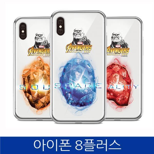 몽동닷컴 아이폰8플러스. 인피니티 워 스톤 투명 폰케이스 iPhone8 PLUS case 핸드폰케이스 스마트폰케이스 마블케이스 인피니티워케이스 아이폰8플러스