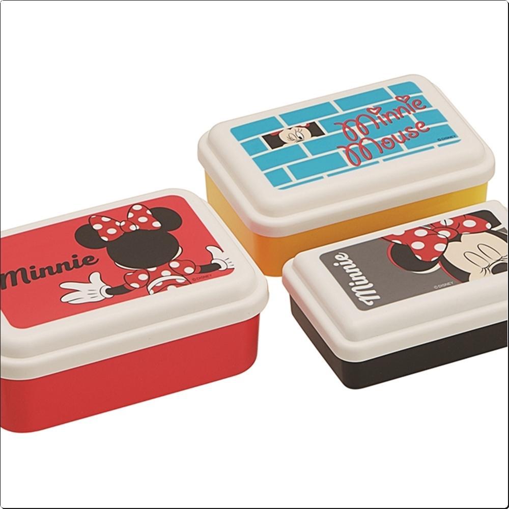 뒷모습 디즈니 미니마우스 보존용기3종 세트(375798) 캐릭터 캐릭터상품 생활잡화 잡화 유아용품
