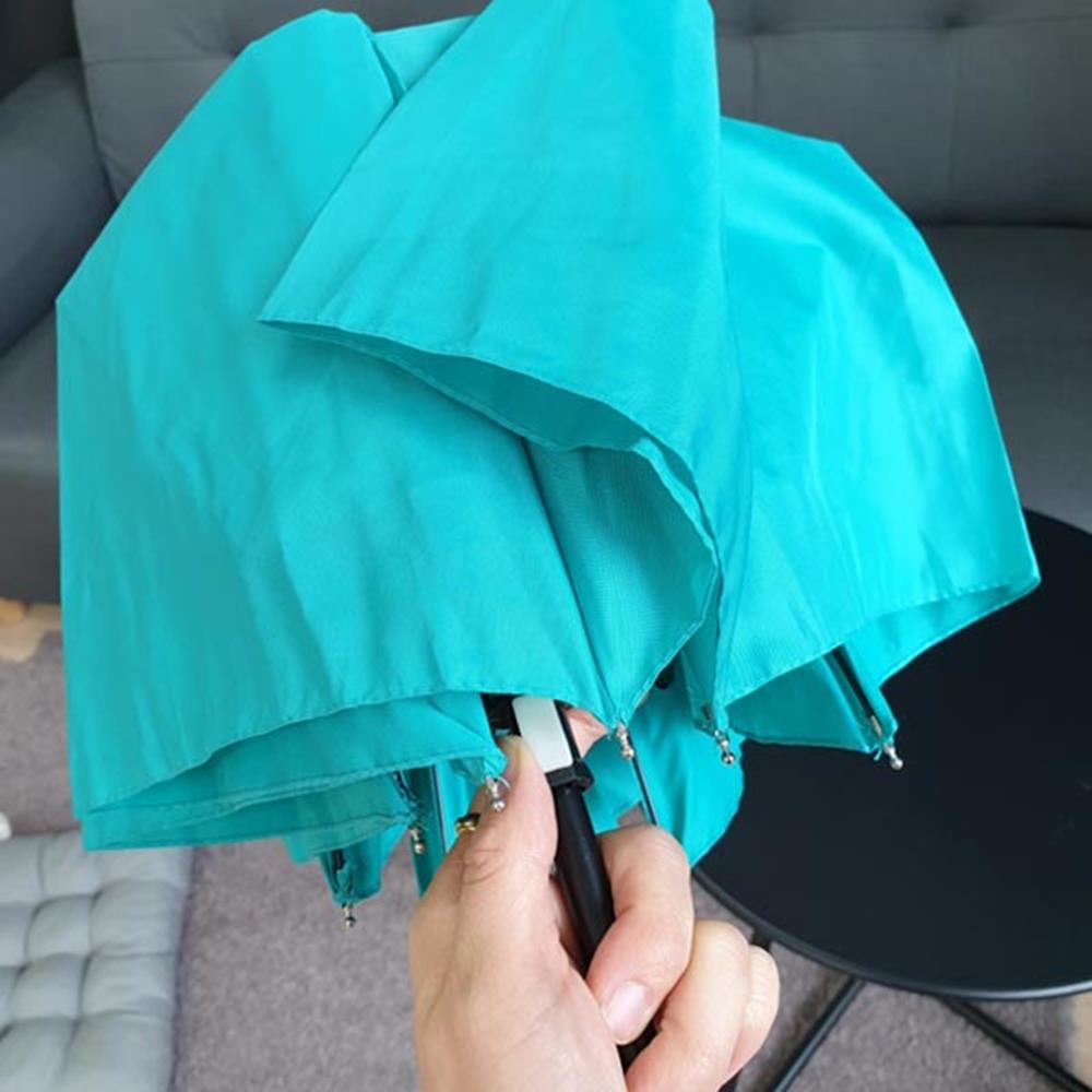 색상랜덤 3단 폰지나무손잡이 우산 자동우산 접는우산 접이식우산 휴대용우산 고급우산 접는우산 예쁜우산