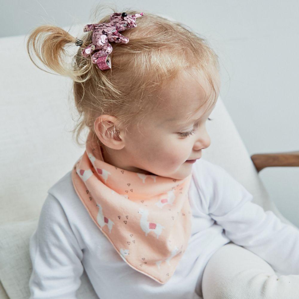 줄무늬 라마 유아 스카프빕(0-4세) 203916 순면턱받이 면턱받이 스카프빕 유아스카프 유아턱받이 아기턱받이 신생아턱받이 요루거즈턱받이 아기스카프 신생아스카프