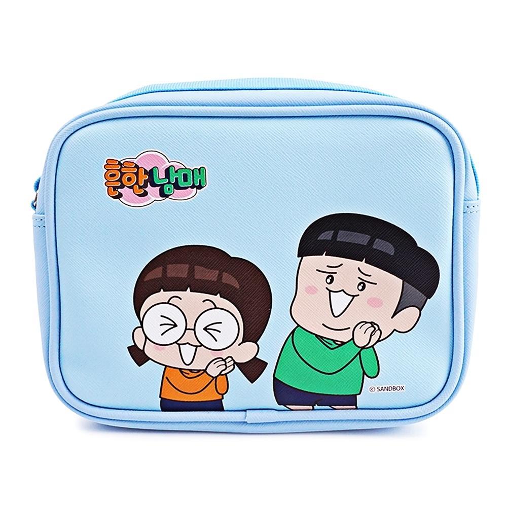 흔한남매 플리즈 사각크로스백 (가방)(613941) 잡화 생활잡화 캐릭터 캐릭터상품 생활용품