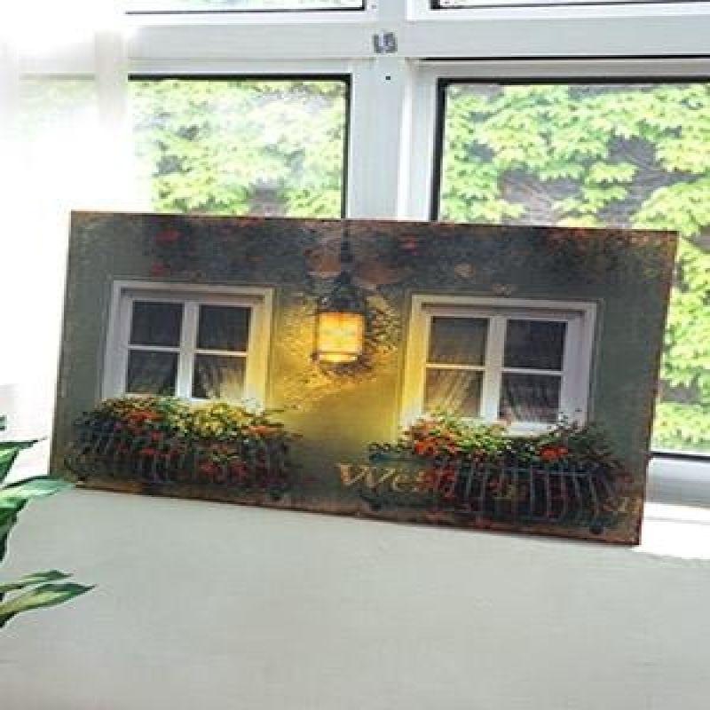 LED 조명 창문 장식액자(6238)