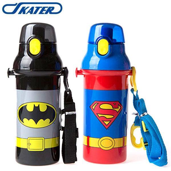 스케이터 배트맨 슈퍼맨 원터치 물통 1개 (제품선택) 빨대물통 물통 캐릭터물통 유아물통 아동물통