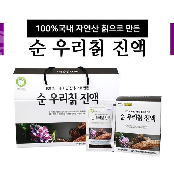몽동닷컴 국내 자연산 순 우리칡 진액 90mlⅹ30포 비타민 영양제 건강식품 기능식품 칡 칡액 엑기스