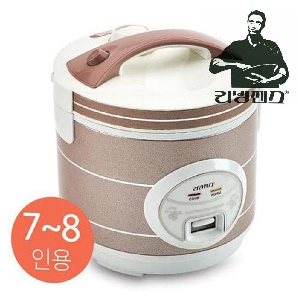 리빙센스5067 미니 7-8인용 전기보온밥솥 밥솥 전기밥통 전기밥솥 밥통 보온밥솥
