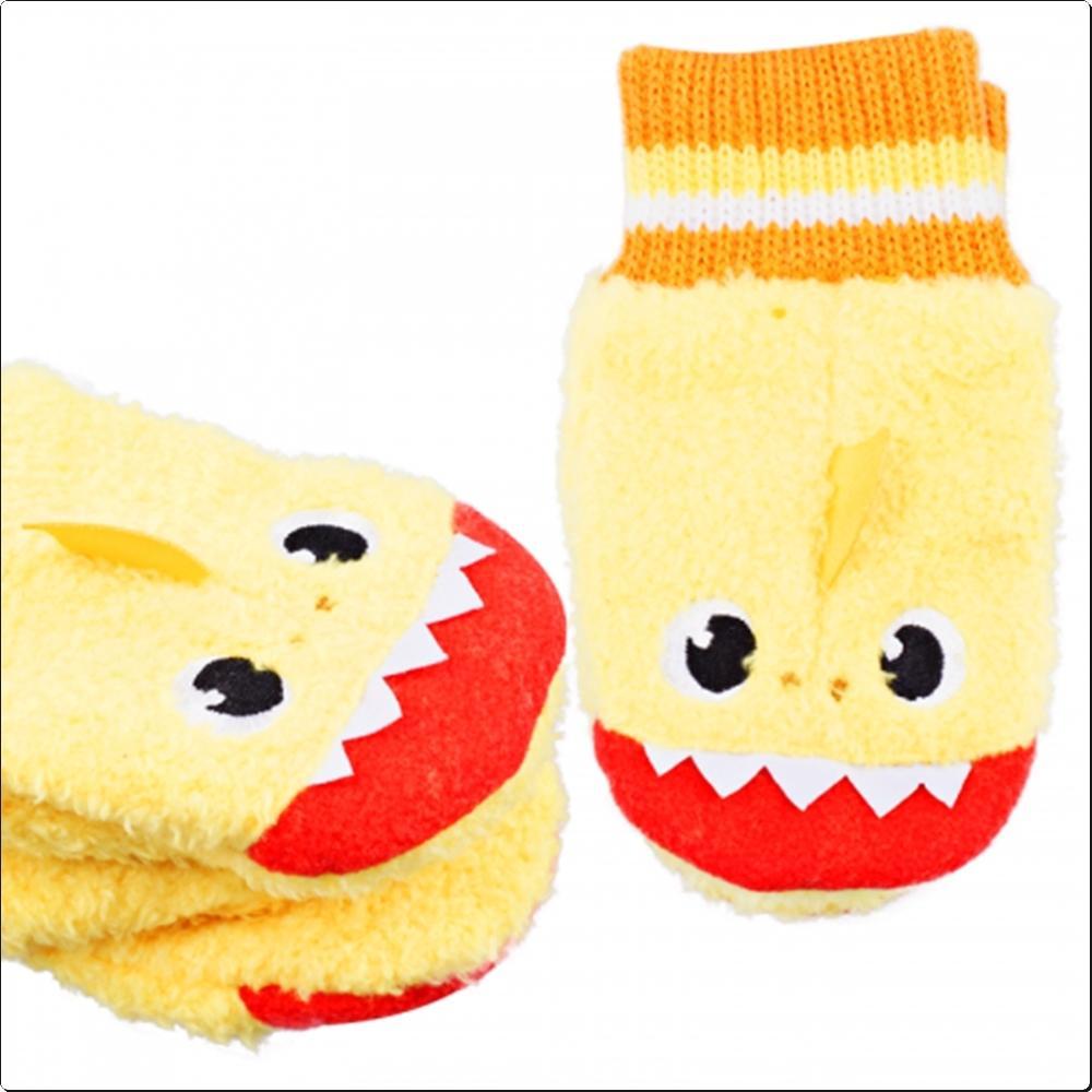 핑크퐁아기상어 입체 폴라장갑 (042544) 캐릭터 캐릭터상품 생활잡화 잡화 유아용품