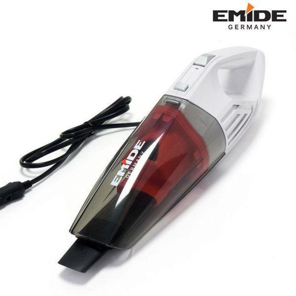 에미데 청소기 차량용 진공청소기 (EMVCB80ER) 미니청소기 휴대용청소기 청소기 진공청소기 주방용품