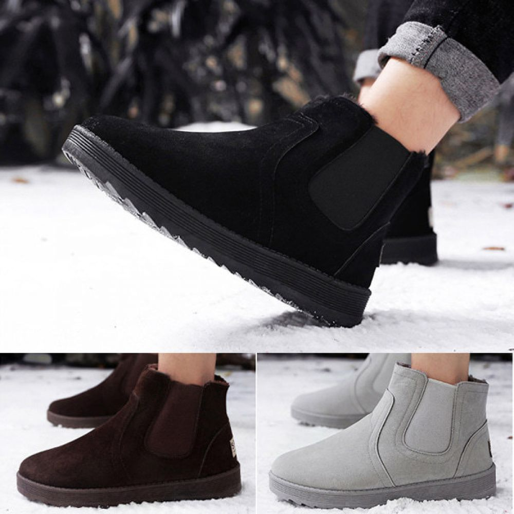남자신발 겨울신발 방한화 모카신 방한신발 AL319 겨울신발 털신 남자겨울신발 방한화 모카신