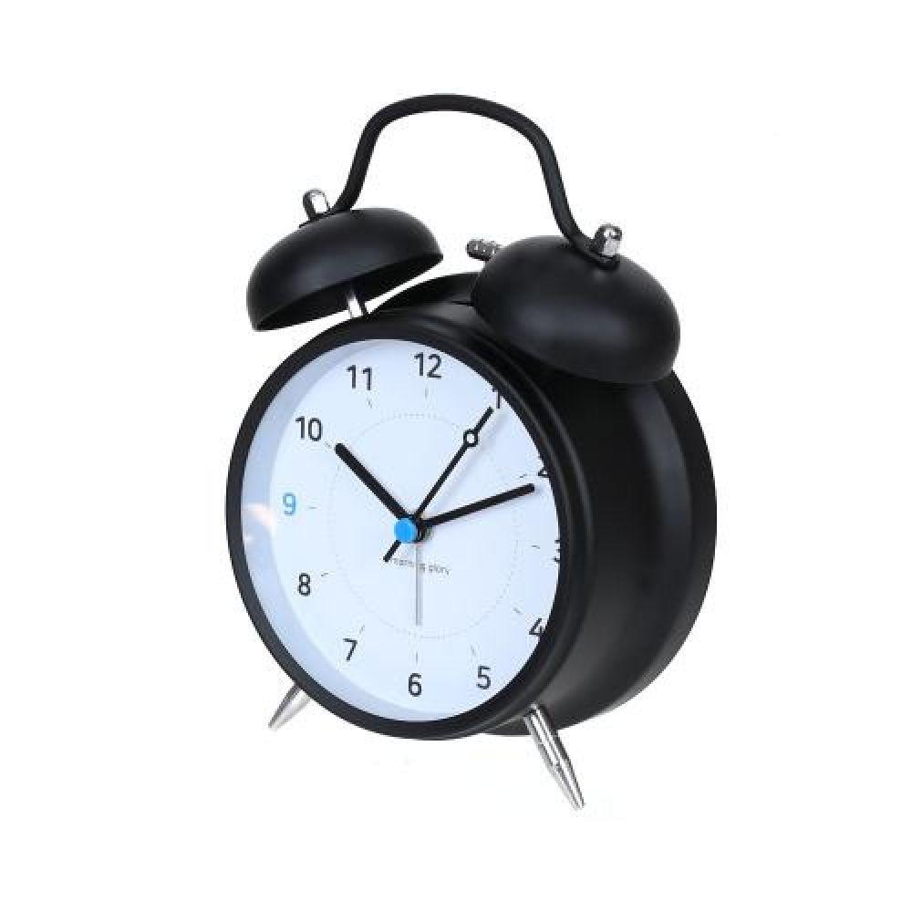 15000 모닝글로리 매트블랙 알람시계 알람시계 소형시계 디자인시계 인테리어시계 탁상시계