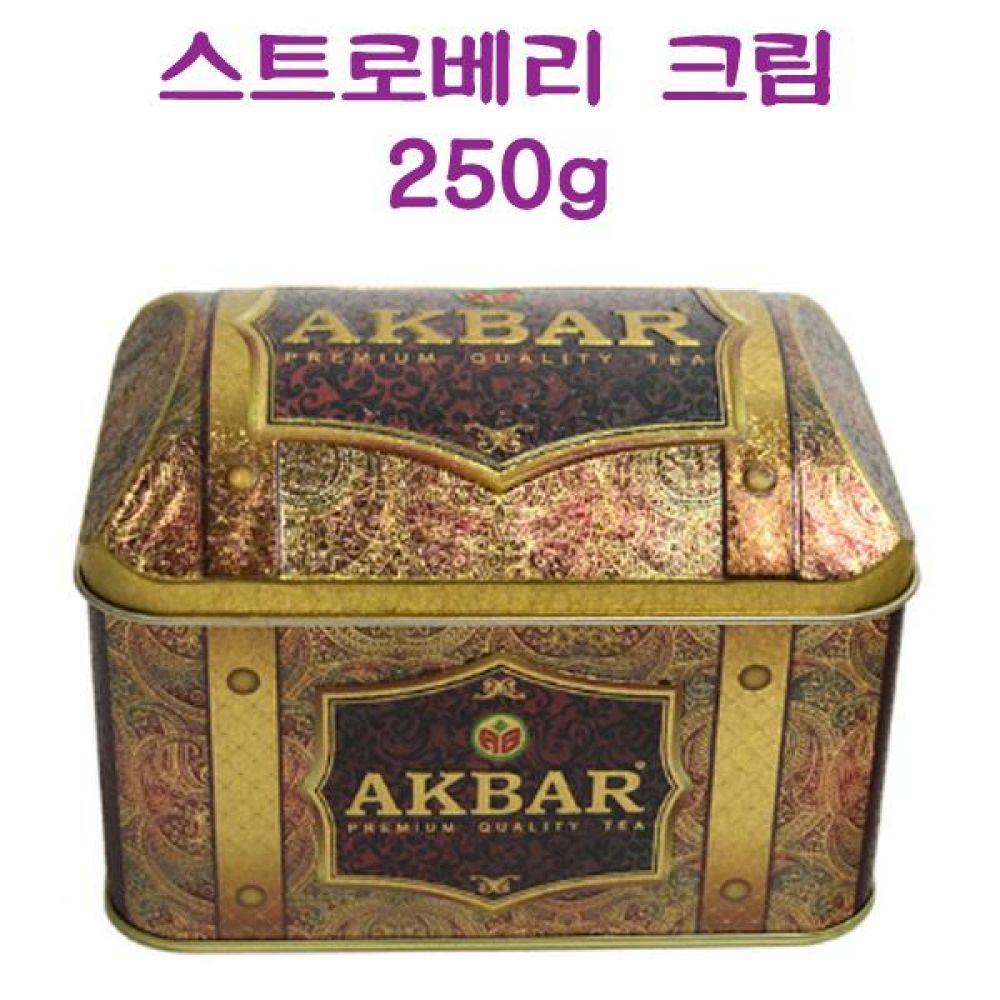 아크바 9117 스트로베리 크림 250g(125g x2) 식품 농수축산물 차 음료 음료기타