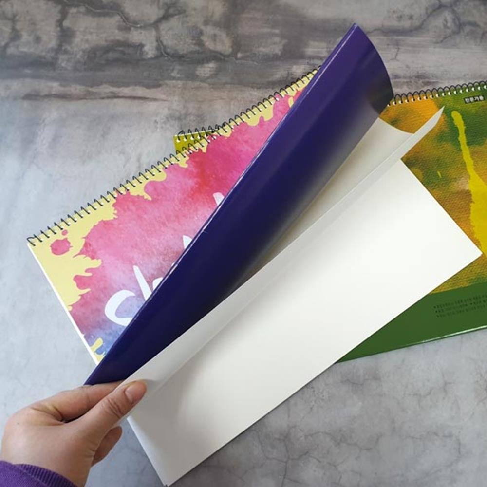 전문가용 3단 스케치북 색칠공부 색칠북 미술북 문구 색칠북 그림그리기 문구 색칠연습장 미술북