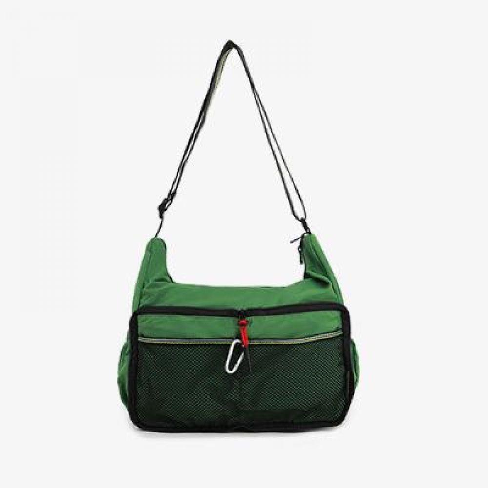 WQ_UWW009 캐주얼 매쉬포켓 여행 크로스백 여행가방 대용량크로스백 가벼운가방 가벼운크로스백 휴대용가방