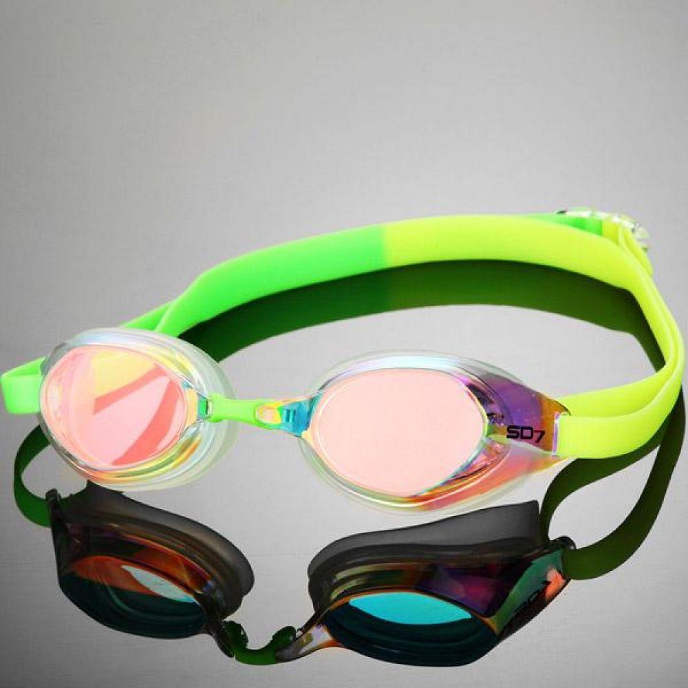 SGL-7800-CLGN SD7 아이큐브 선수용 수경 수영용품 물안경 남자수경 여자수경 성인물안경