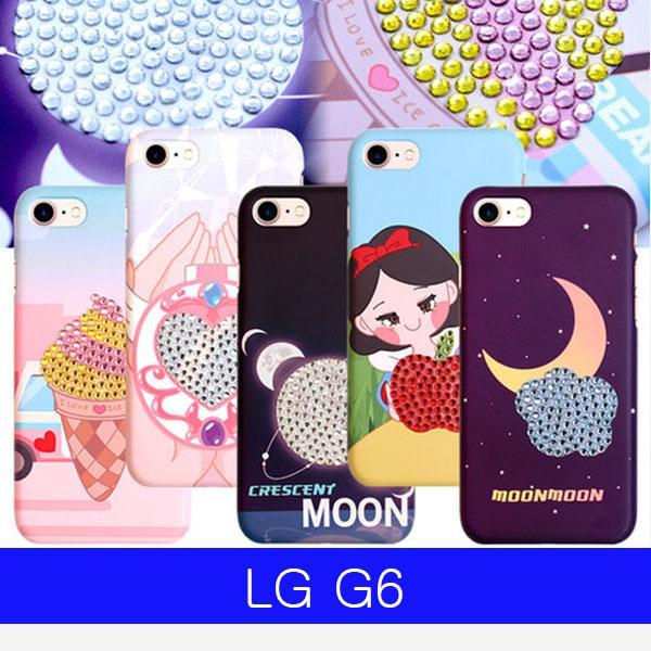 몽동닷컴 LG G6 블링블링 컬러큐빅 하드 G600 케이스 엘지G6케이스 LGG6케이스 G6케이스 엘지G600케이스 LGG600케이스