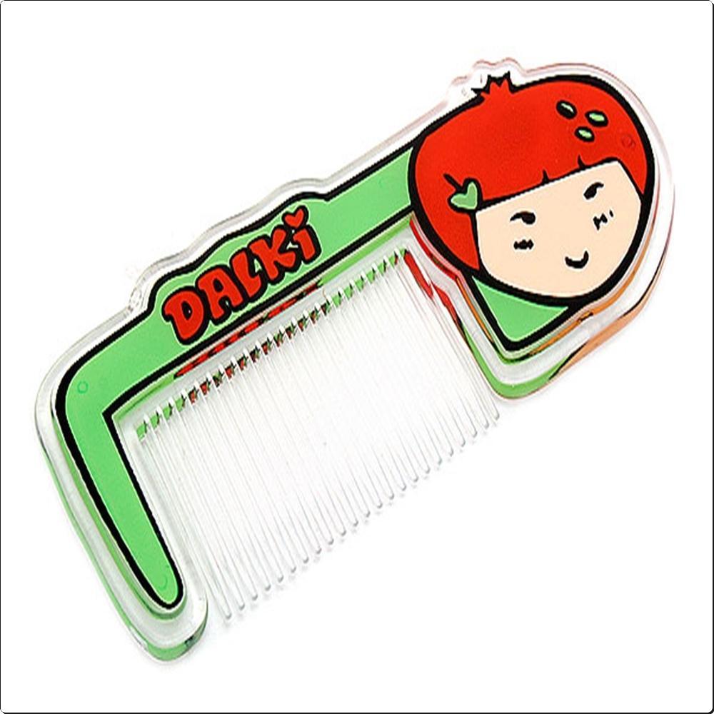 딸기 빗 캐릭터 캐릭터상품 생활잡화 잡화 유아용품