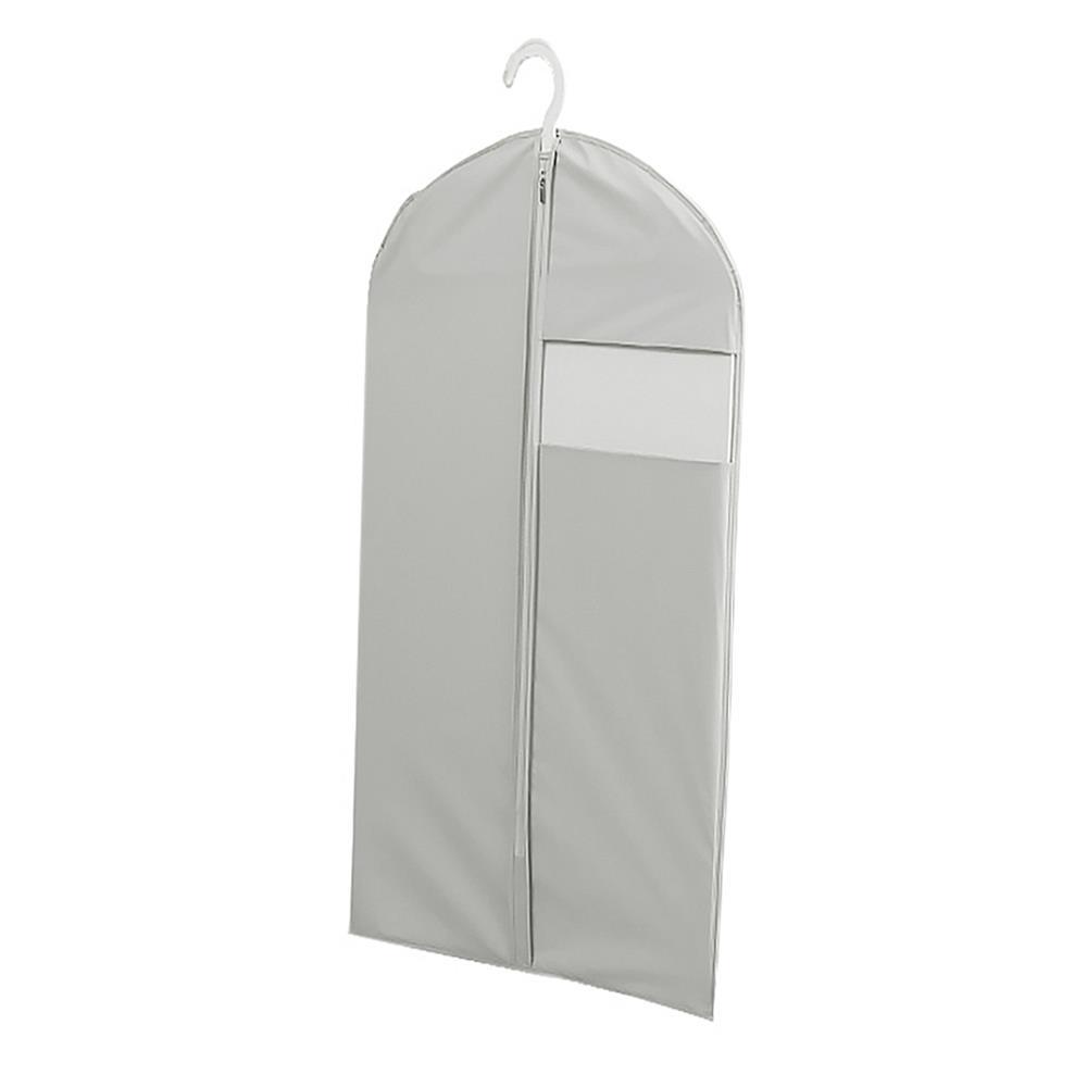 투명창 60x130cm 옷커버 그레이 투명옷커버 행거커버 지퍼식옷커버 투명옷커버 옷덮개 의류커버 행거커버