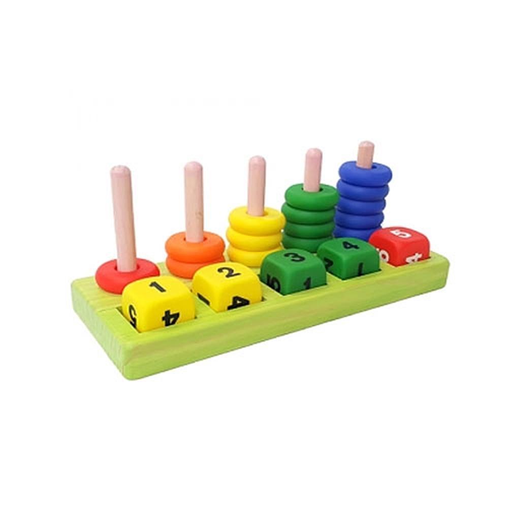 놀이판 유아 장난감 소프트 아이 셈놀이 1단계 원목 퍼즐 블록 블럭 장난감 유아블럭