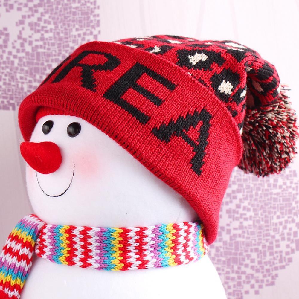 비니 모자 패턴 얼룩 여성용 겨울모자 니트모자 패션모자 니트캡 여성비니 여자모자 모자