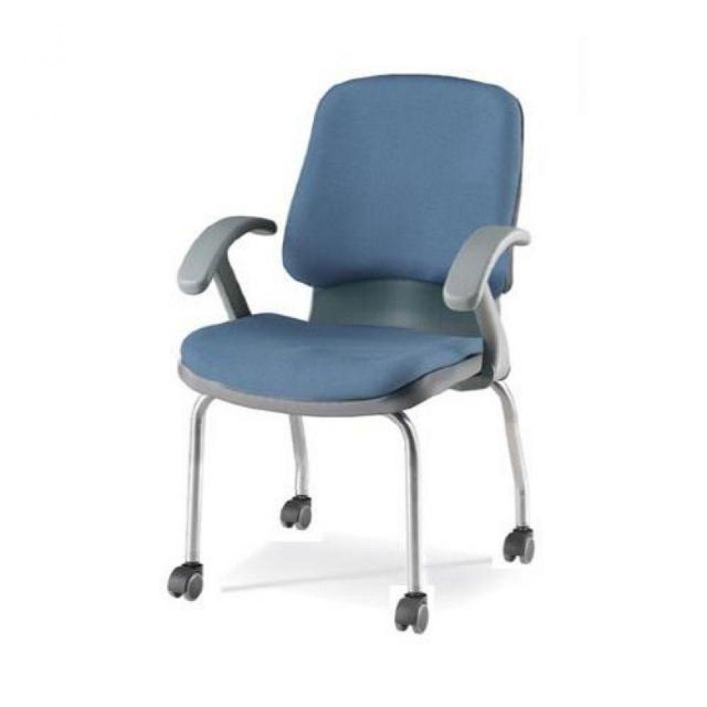 회의용 바퀴의자 팬텀(중) 팔유(올쿠션) 566-PS1006 사무실의자 컴퓨터의자 공부의자 책상의자 학생의자 등받이의자 바퀴의자 중역의자 사무의자 사무용의자