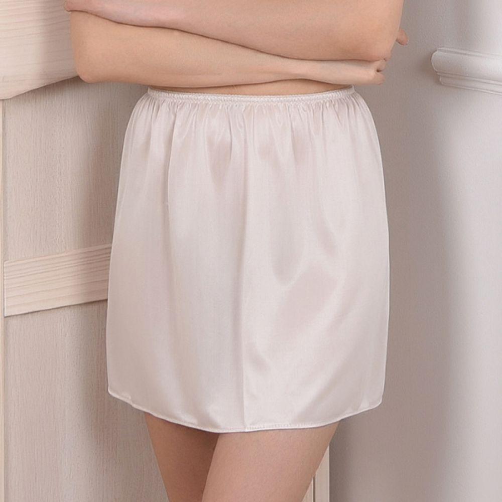 (뵈뵈)(SL722)부드러운 속치마 슬립 속치마 여성속치마 여성이너웨어 속치마슬립 여성속옷