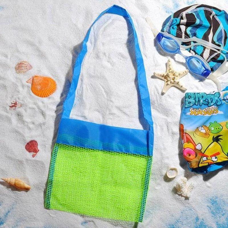 MWSHOP 어린이 해변 비치백 장난감 물놀이가방 엠더블유샵