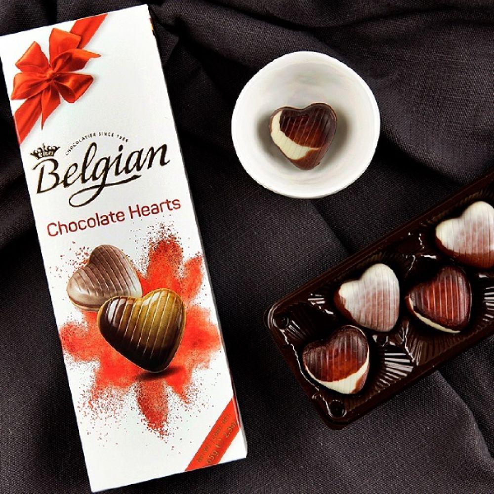 벨지안초콜릿 하트 65g 벨지안 초콜렛 발렌타인데이 수입초콜릿 초콜릿선물