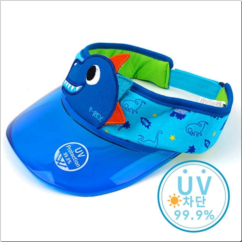 다이노 UV 차단썬캡 (바이저 모자)(736798) 캐릭터 캐릭터상품 생활잡화 잡화 유아용품