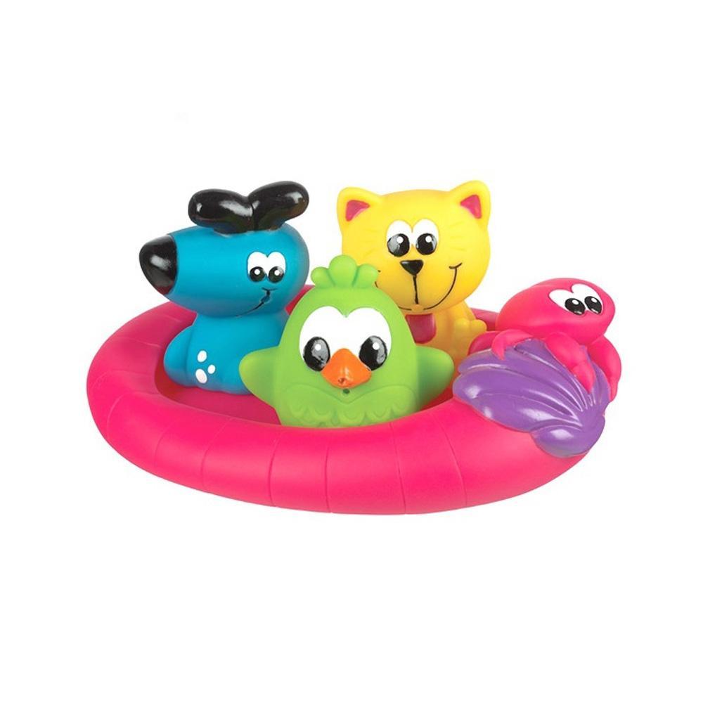선물 아이 장난감 목욕시간 탐험가들 4P 유아 조카 유아원 장난감 2살장난감 3살장난감 4살장난감