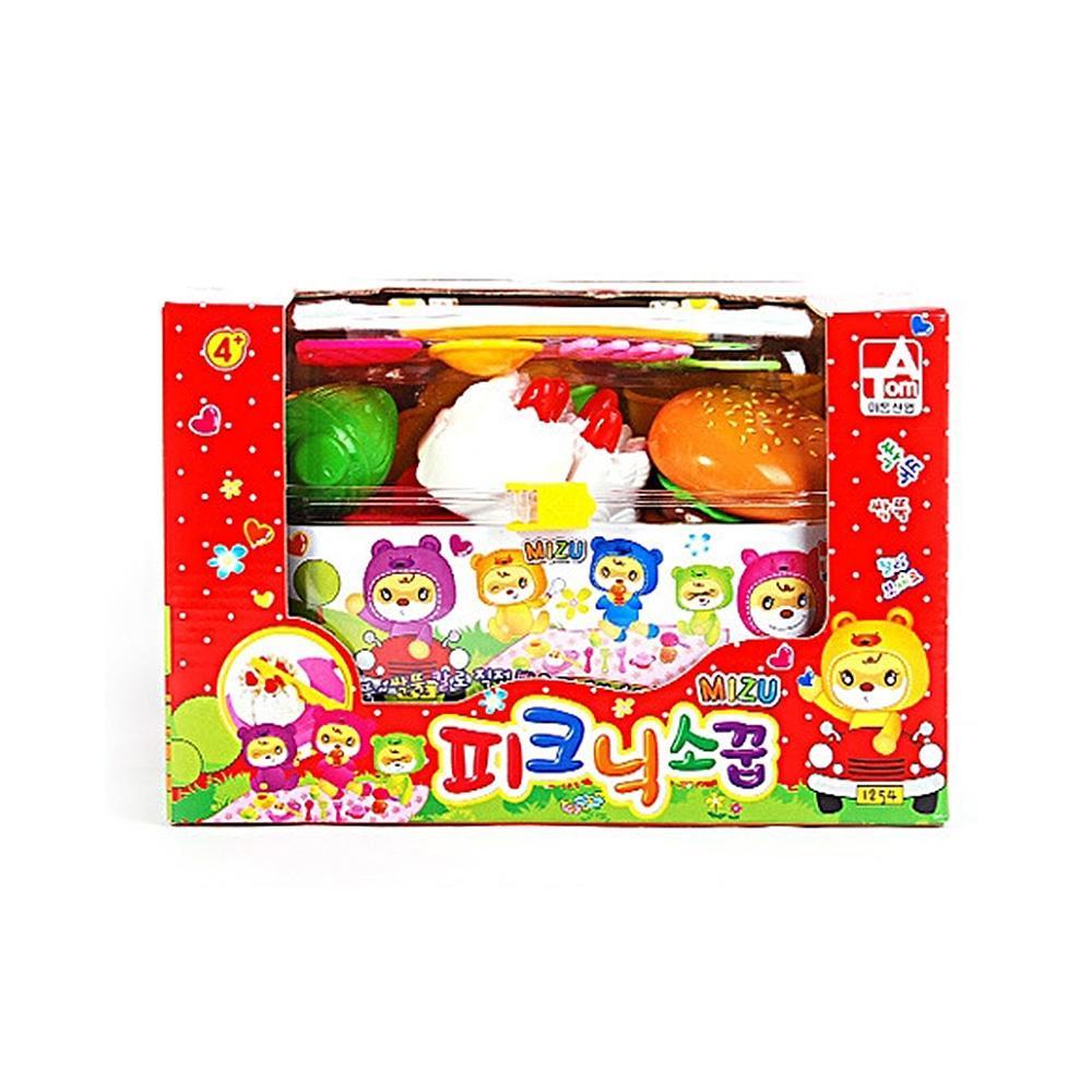 선물 유아 장난감 완구 미즈 피크닉소꿉놀이 어린이 유아원 장난감 2살장난감 3살장난감 4살장난감