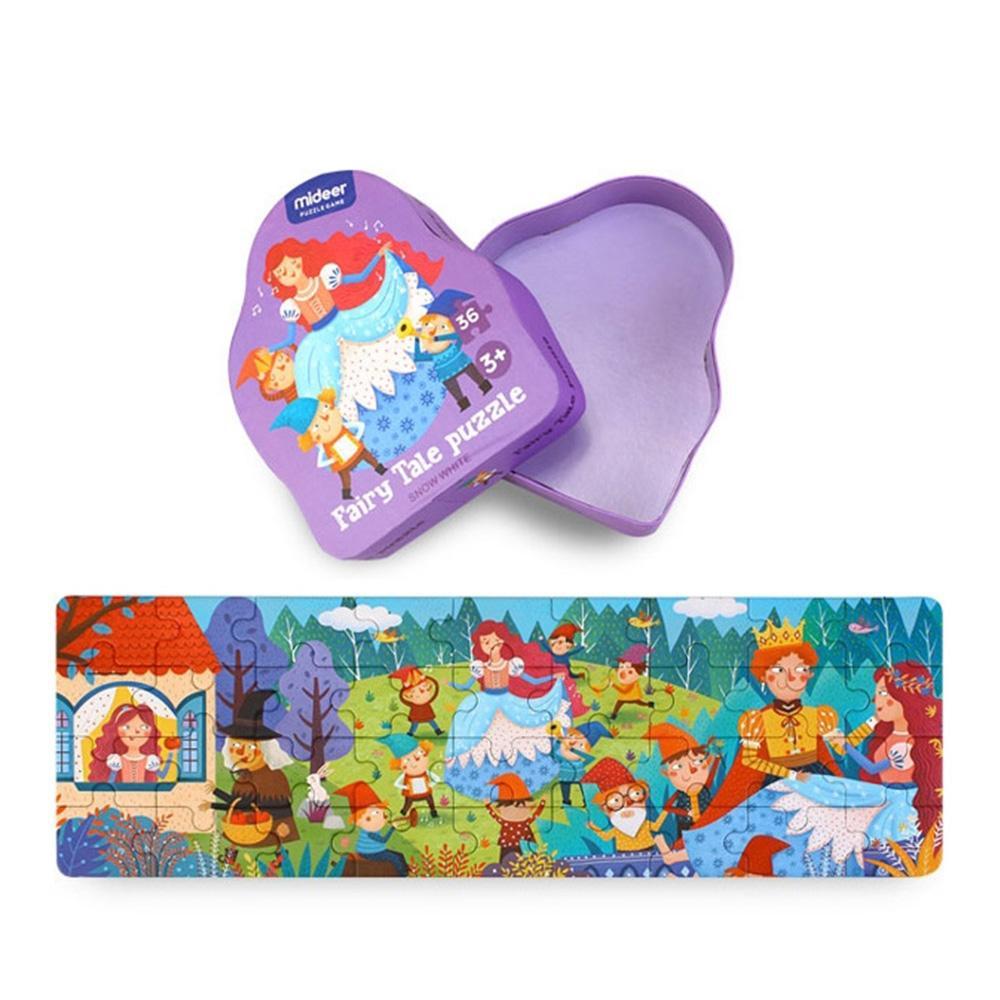 선물 3살 4살 유아 명작동화 퍼즐 백설공주 조카 생일 퍼즐 블록 블럭 장난감 유아블럭