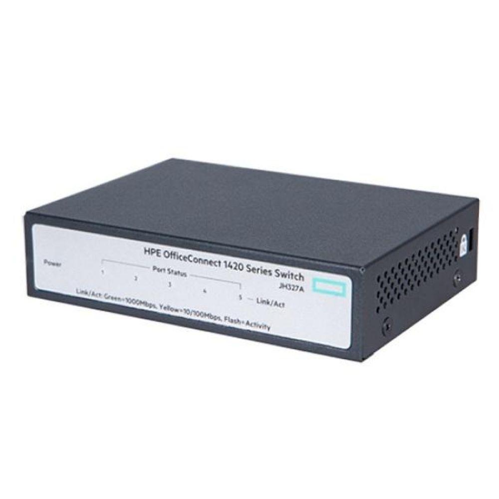 HPE 아루바 1420 5G 327A 스위칭허브 5포트 기가 HUB 컴퓨터용품 PC용품 컴퓨터악세사리 컴퓨터주변용품 네트워크용품