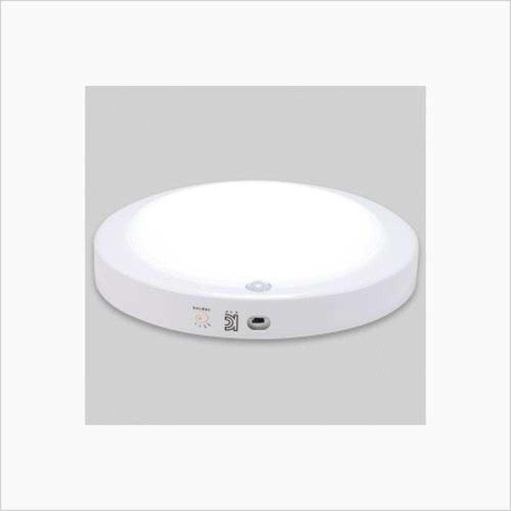 인테리어조명 원형 LED비상 센서등 15W 주광색 철물용품 인테리어조명 LED벌브 LED전구 전구 조명 램프 LED램프 할로겐램프 LED등기구