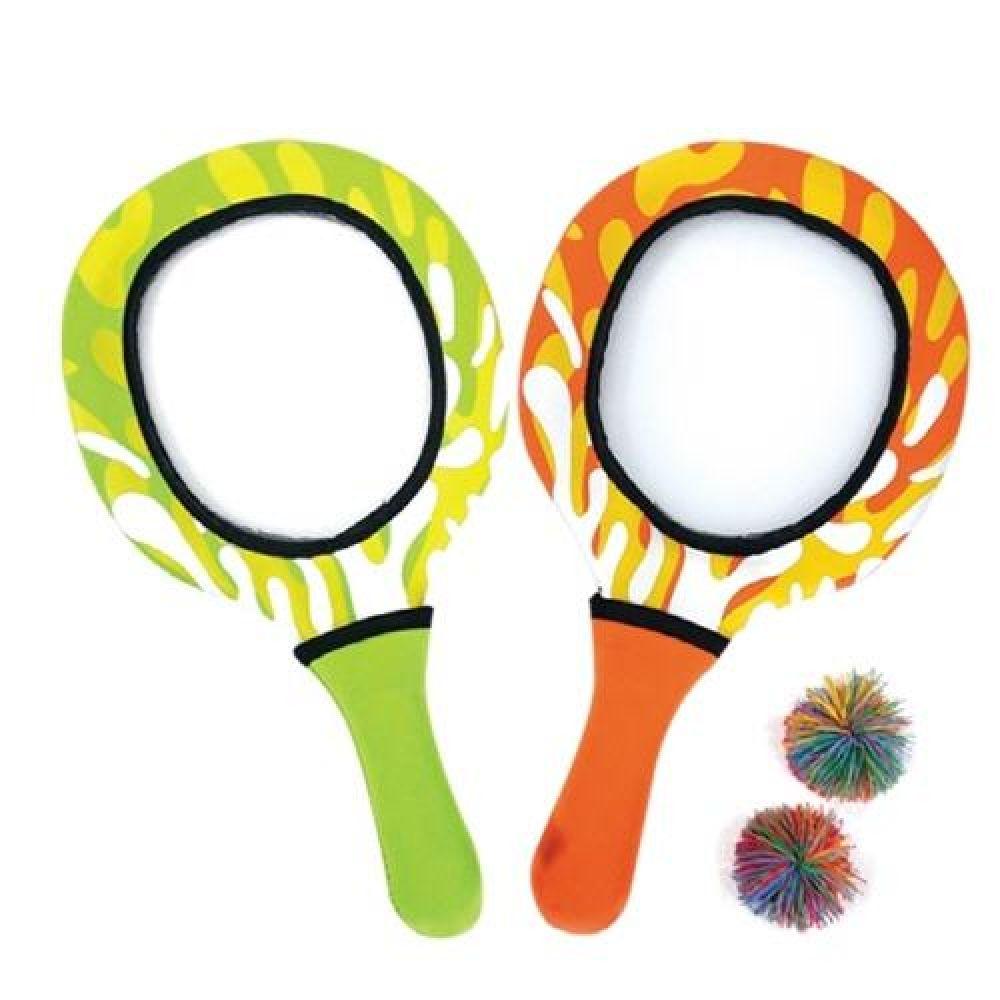 아이워너 네오프랜 라켓 2개1세트 캐치볼놀이 스포츠용품 운동용품 실내체육용품 체육놀이 어린이스포츠놀이 단체공놀이 캐치볼놀이