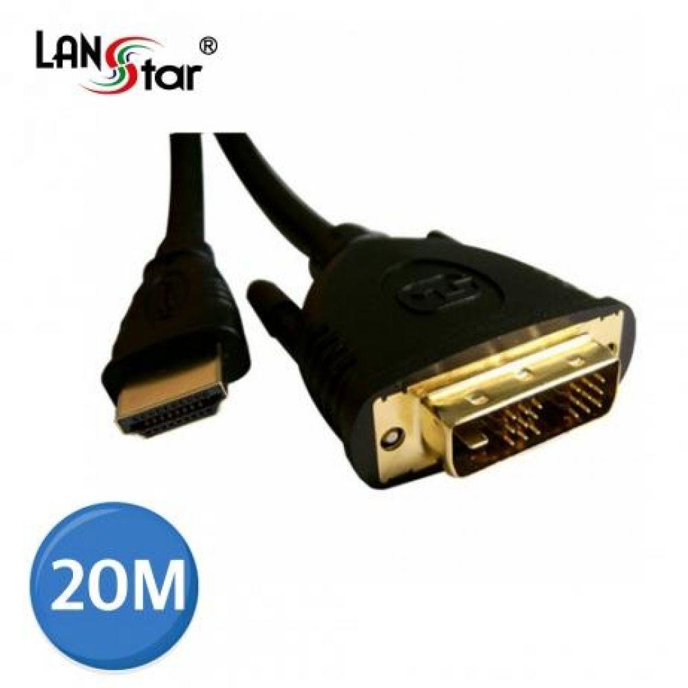 DVI케이블 DVI18 1M- HDMI19M 1920x1080 20M 컴퓨터용품 PC용품 컴퓨터악세사리 컴퓨터주변용품 네트워크용품