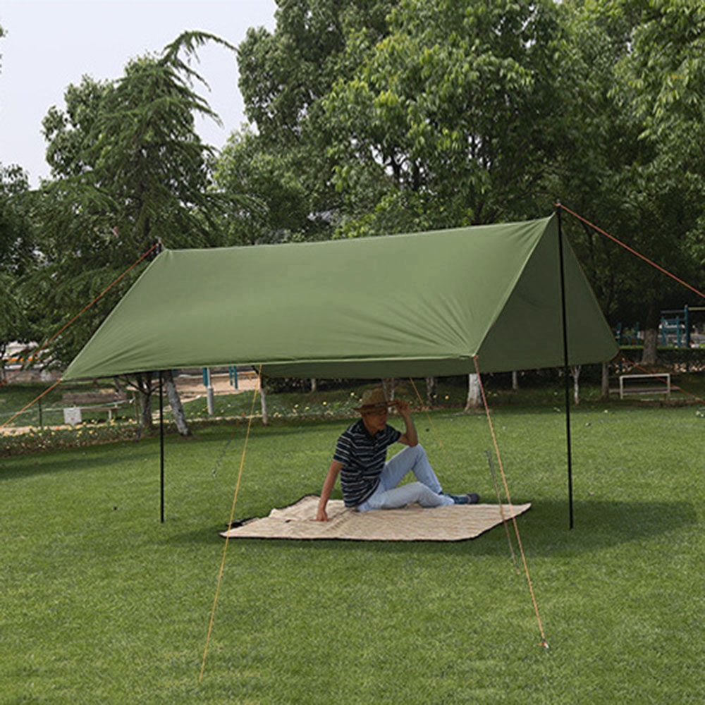2M 캠핑 그늘막타프 세트 레저용품 내수압타프 방수타프 레저용품 자외선차단타프 렉타타프 차광막타프